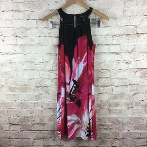White House Black Market Pink Floral Dress Size XS